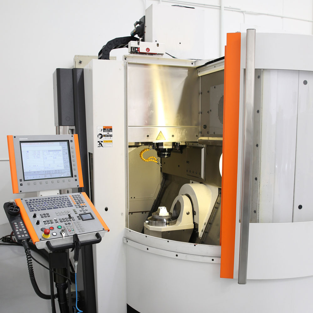HIGH SPEED 5-AXIS MACHINE
